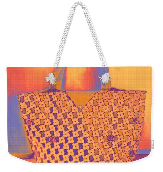 Modern Shopping Bag Weekender Tote Bag