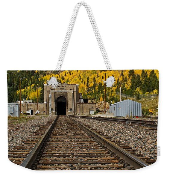 Moffat Tunnel Weekender Tote Bag