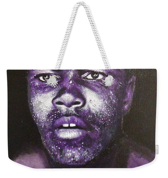 Mohamed Ali Weekender Tote Bag