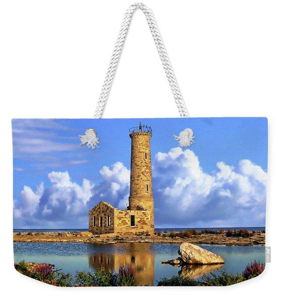 Mohawk Island Lighthouse Weekender Tote Bag
