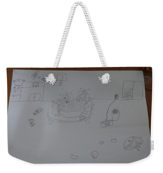 Mold Party Weekender Tote Bag
