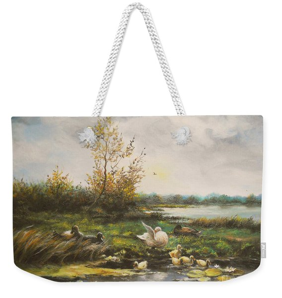 Moments Of Silence Weekender Tote Bag