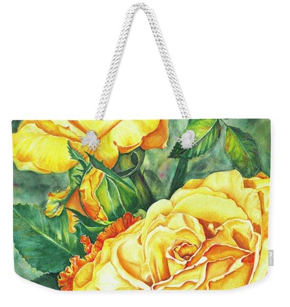 Mom's Golden Glory Weekender Tote Bag