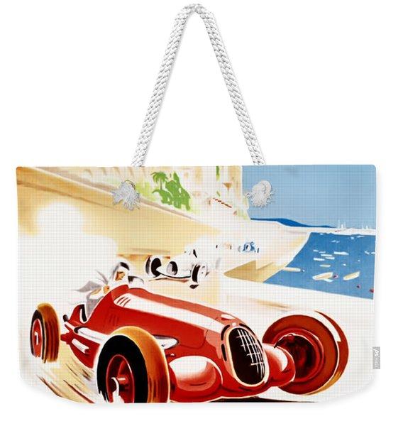 Monaco Grand Prix 1937 Weekender Tote Bag