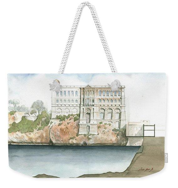 Monaco Oceanographic Museum Weekender Tote Bag