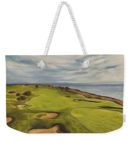 Monarch Bay Golf Course Weekender Tote Bag