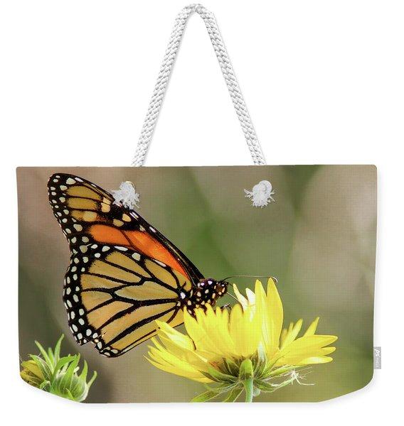 Monarch Butterfly 071416 Weekender Tote Bag