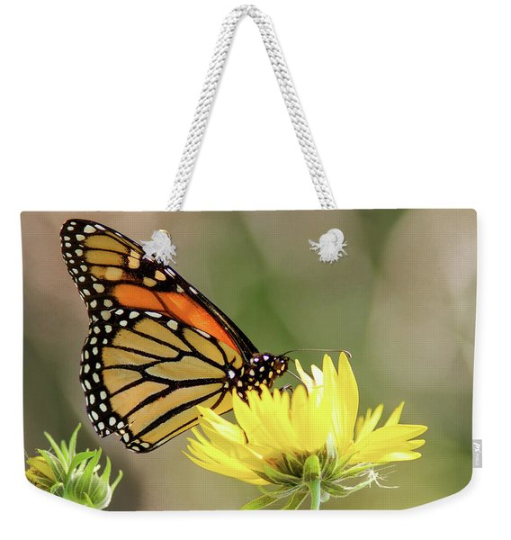 Monarch Butterfly 071416 Weekender Tote Bag