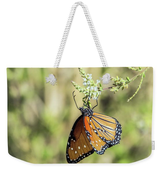 Monarch Butterfly 7504-101017-2cr Weekender Tote Bag