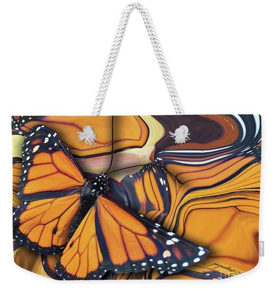 Monarch Flight Weekender Tote Bag