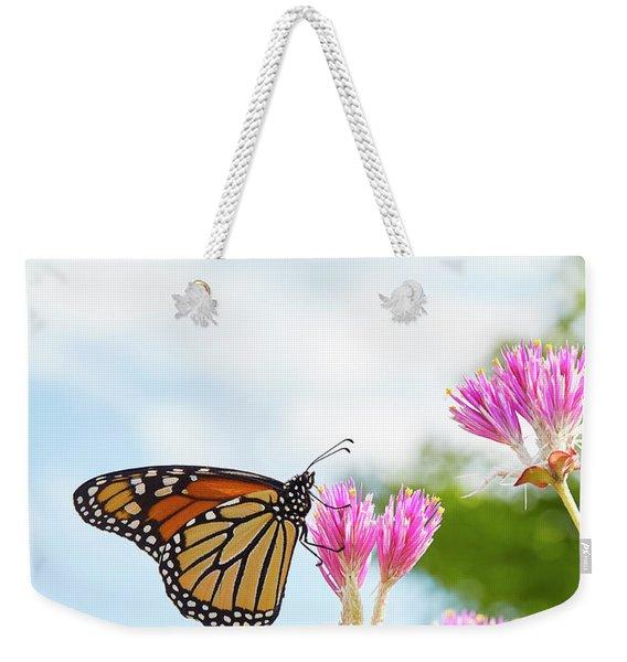 Monarch Weekender Tote Bag