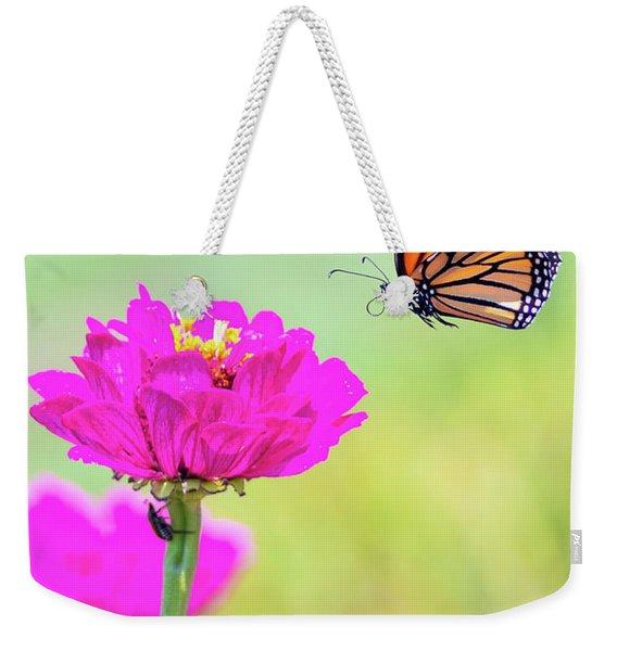 Monarch In Flight 1 Weekender Tote Bag