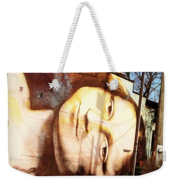 Mona's Facial Expression Weekender Tote Bag