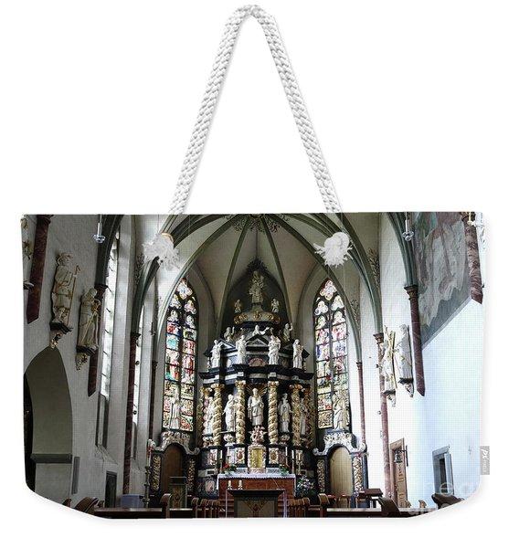 Monastery Church Oelinghausen, Germany Weekender Tote Bag