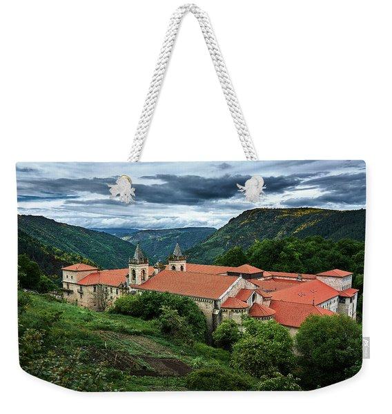 Monastery Of Santo Estevo De Ribas Del Sil Weekender Tote Bag