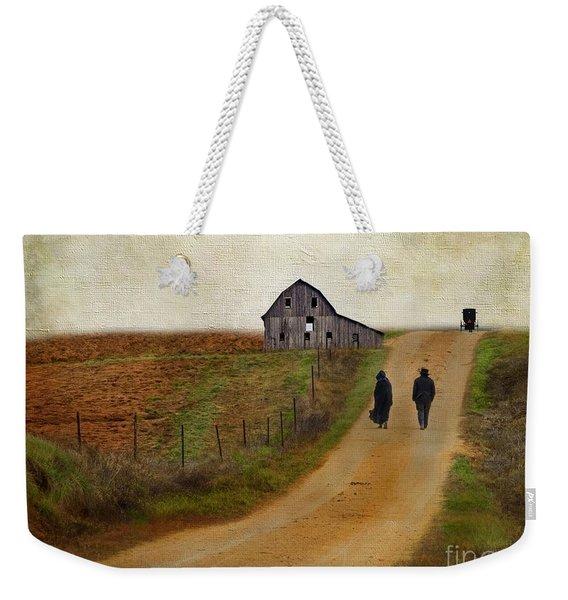 Monday Evening Weekender Tote Bag