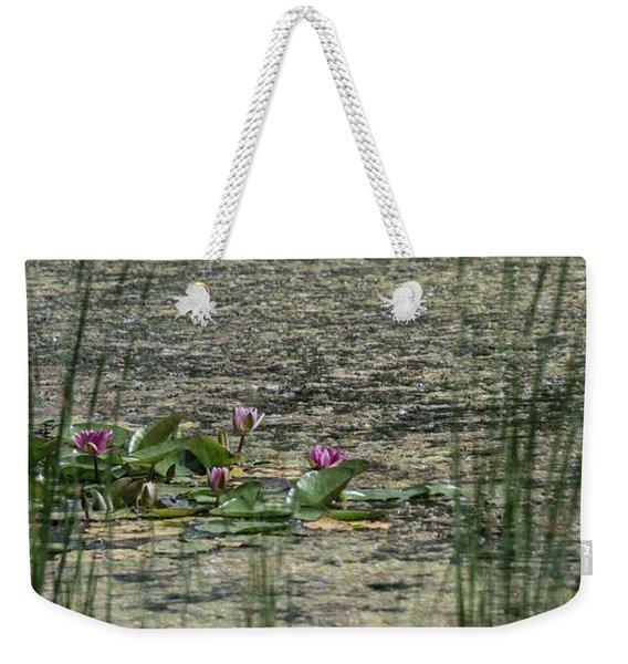 Monet At Giverny Weekender Tote Bag