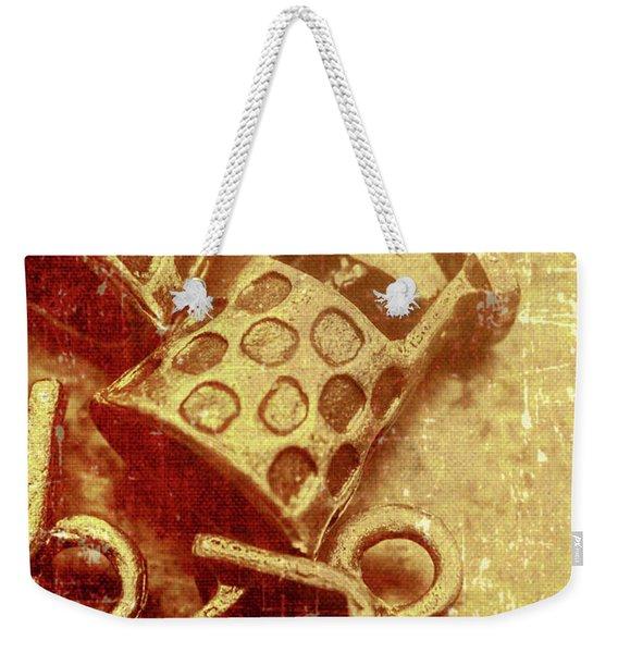Monetary Wells Weekender Tote Bag