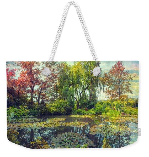 Monet's Afternoon Weekender Tote Bag