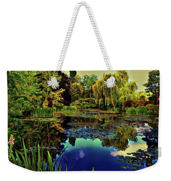 Monet's Flower Garden - Water Lilies Weekender Tote Bag
