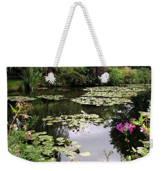 Monets Garden, Giverny, France Weekender Tote Bag