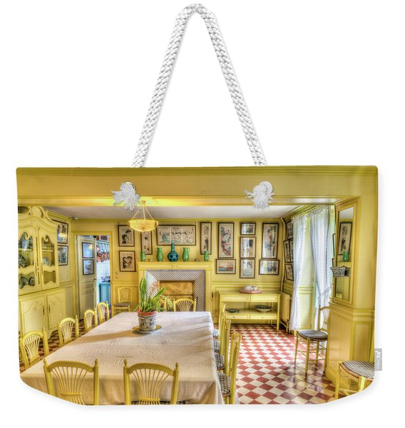 Monet's Kitchen Weekender Tote Bag