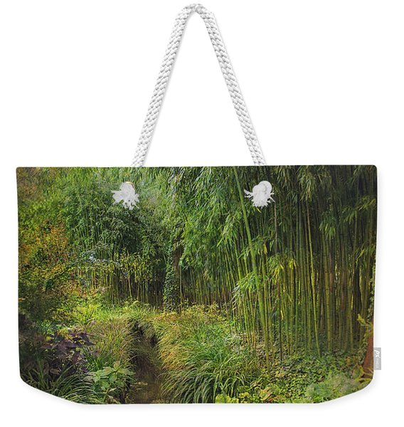 Monets Paradise Weekender Tote Bag