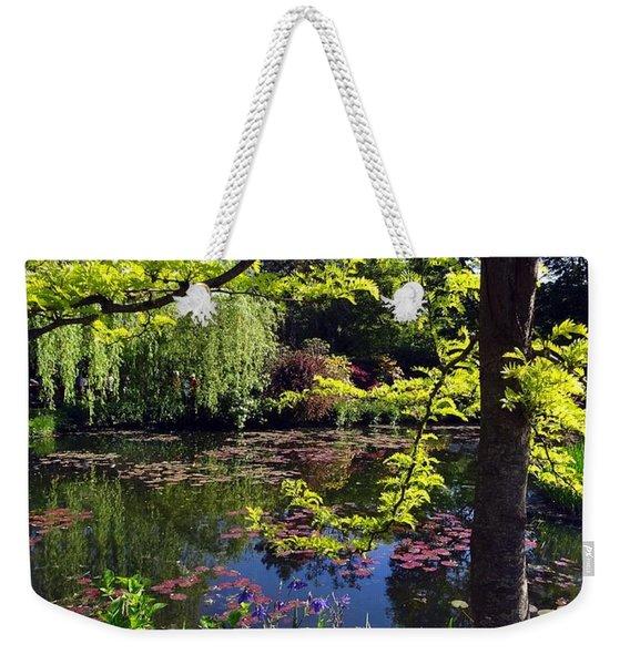 Monet's Pond Weekender Tote Bag