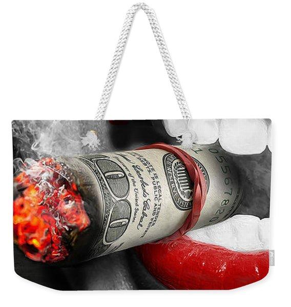 Money To Burn Weekender Tote Bag