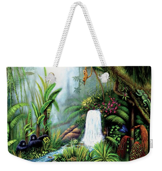 Monkeying Around Weekender Tote Bag