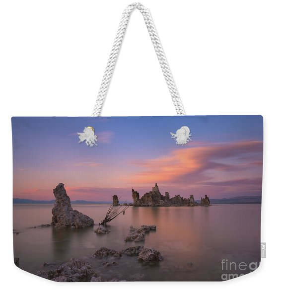 Mono Lake Long Exposure Sunset  Weekender Tote Bag