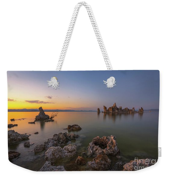 Mono Lake Pods Sunset  Weekender Tote Bag