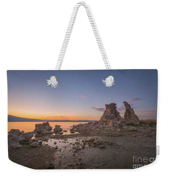 Mono Lake Sunrise  Weekender Tote Bag