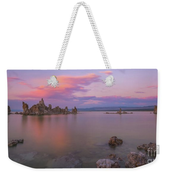 Mono Lake Sunset Panorama  Weekender Tote Bag