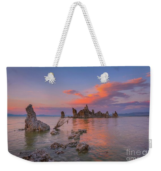 Mono Lake Sunset Reflections  Weekender Tote Bag