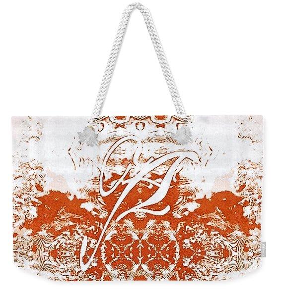 Monogram A - 0 - 12  Weekender Tote Bag