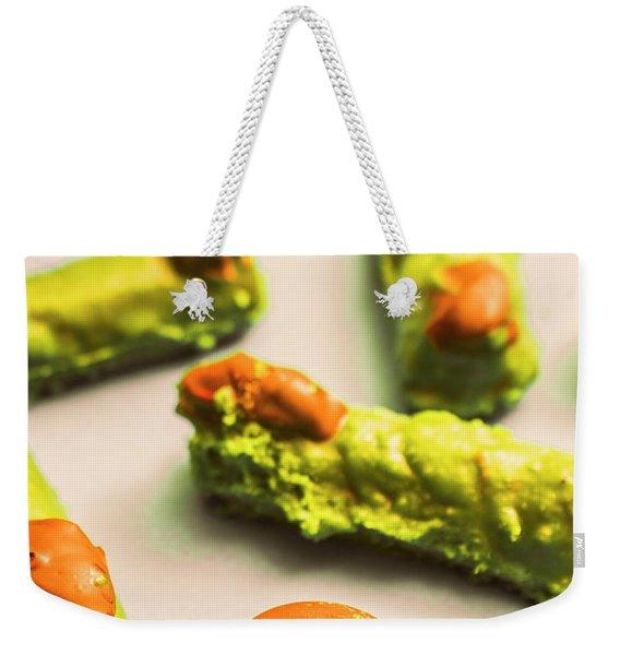 Monster Finger Cake Weekender Tote Bag