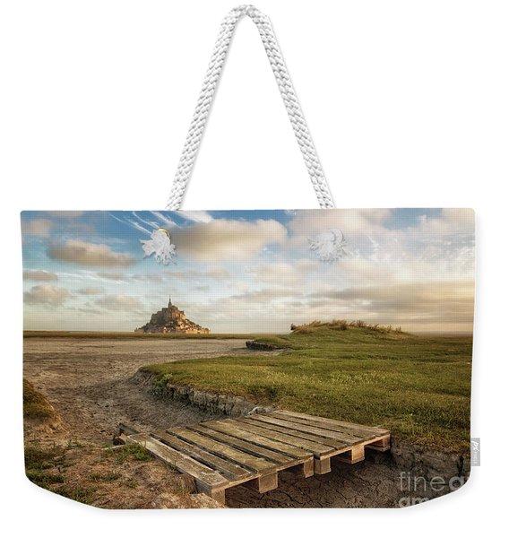 Mont Saint-michel's Bay Weekender Tote Bag