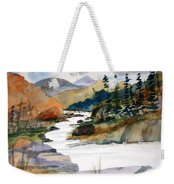 Montana Canyon Weekender Tote Bag