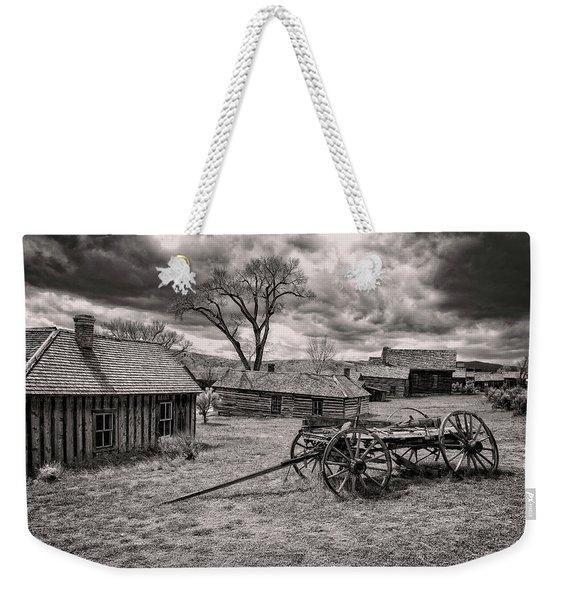 Montana Ghost Town Weekender Tote Bag