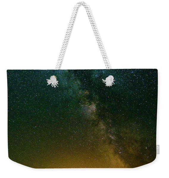 Montana Night Weekender Tote Bag