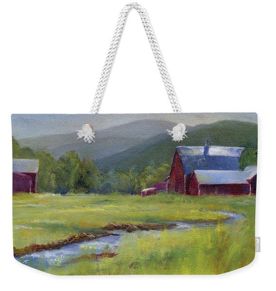 Montana Ranch Weekender Tote Bag