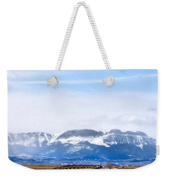 Montana Scenery One Weekender Tote Bag