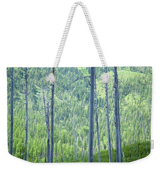 Montana Trees Weekender Tote Bag