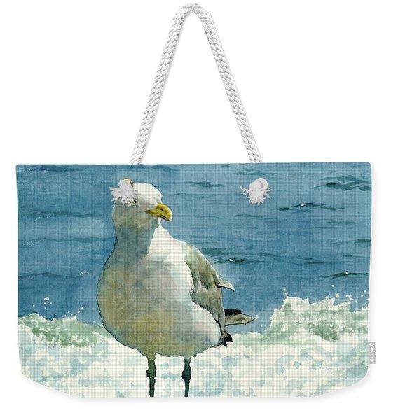 Montauk Gull Weekender Tote Bag