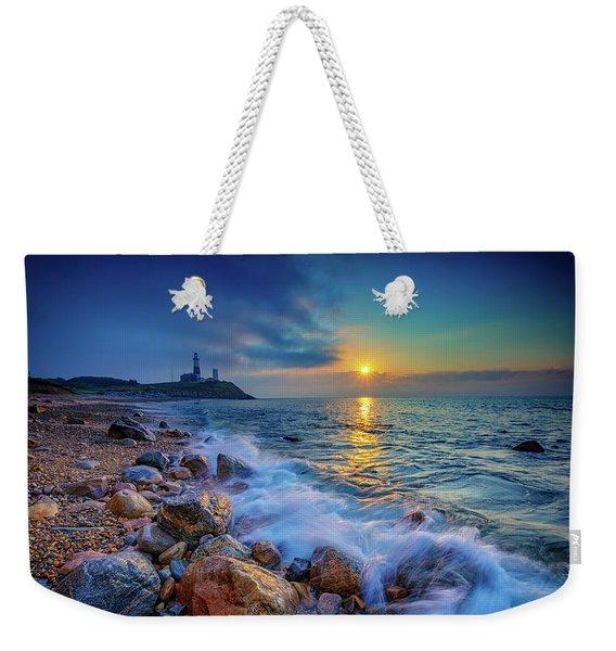 Montauk Sunrise Weekender Tote Bag