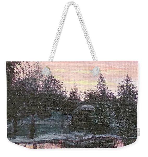 Montgomery Pond Weekender Tote Bag