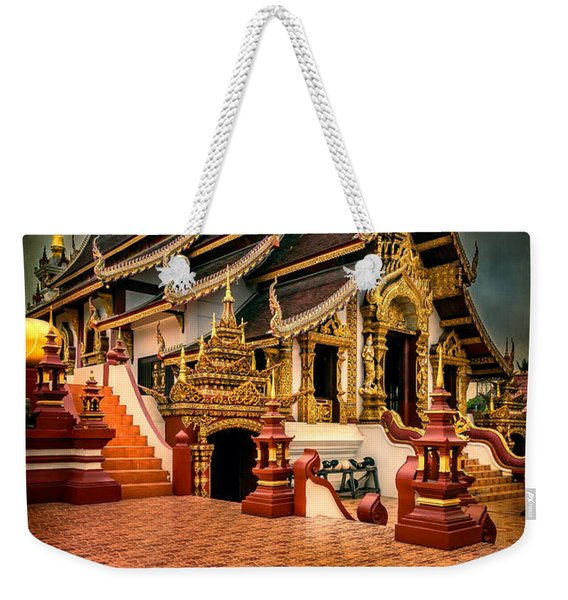 Monthian Temple Chiang Mai  Weekender Tote Bag