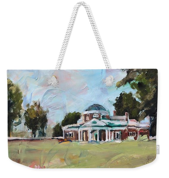 Monticello Charlottesville Virginia Weekender Tote Bag
