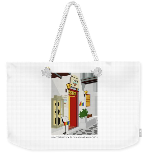 Montparnasse The Piano Bar Weekender Tote Bag